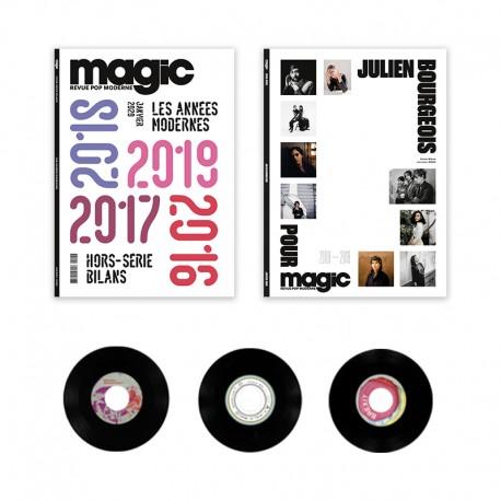 Deux hors-séries Magic et 3 vinyles collectors